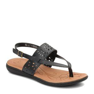 BOC Clearwater  Slingback Thong Sandals  Black 7
